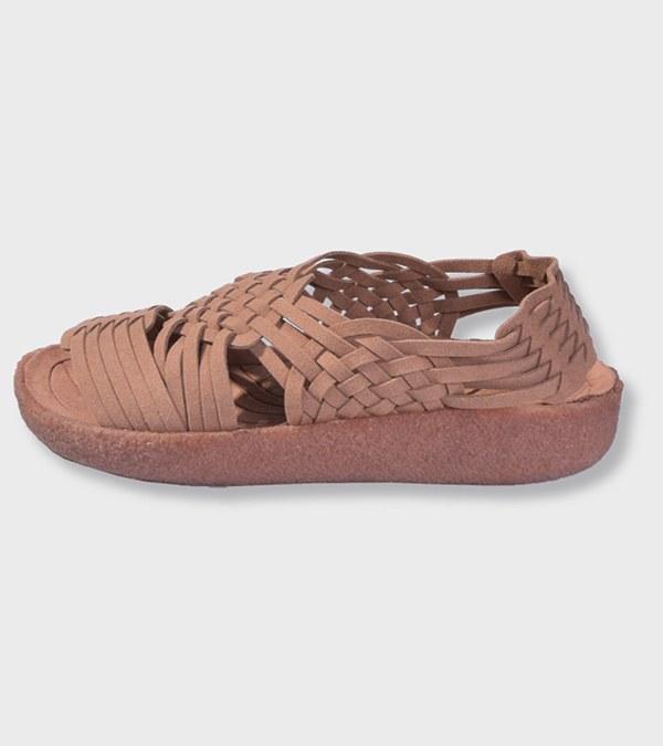 MLB3208 素麂皮絨編織涼鞋 CANYON SUEDE VEGAN LEATHER