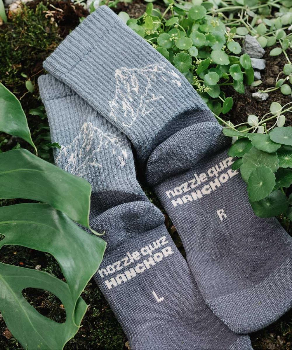 NZQ2906 Merino woolR Hike trek socks 美麗諾羊毛登山襪