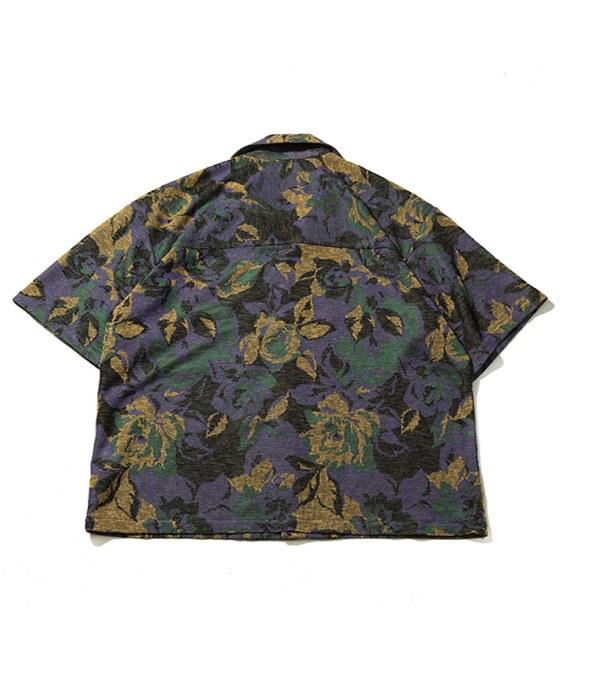 PLT9940 CLASSIC FLORAL SHIRT 花朵鬆身開襟襯衫