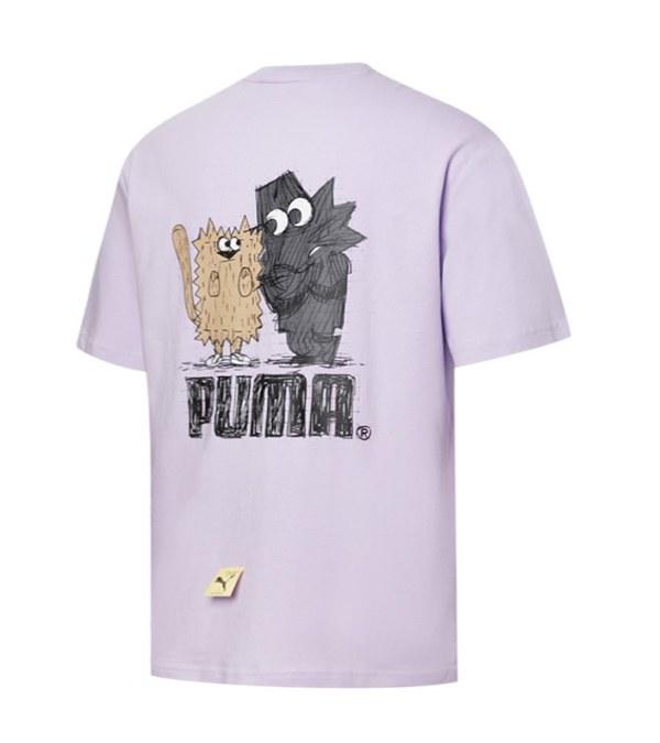 PUMA0120 Michael Lau系列Too Tight短袖T恤(M)