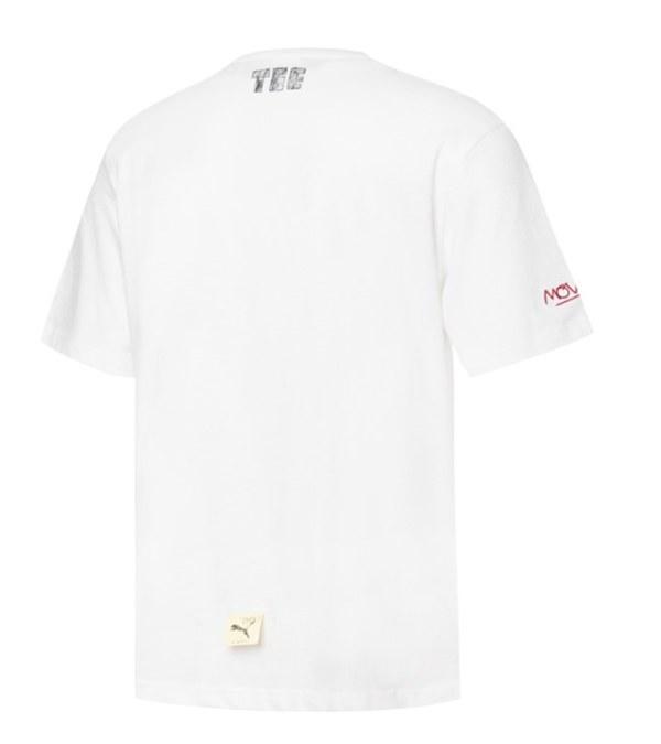 PUMA0121 Michael Lau系列短袖T恤(M)