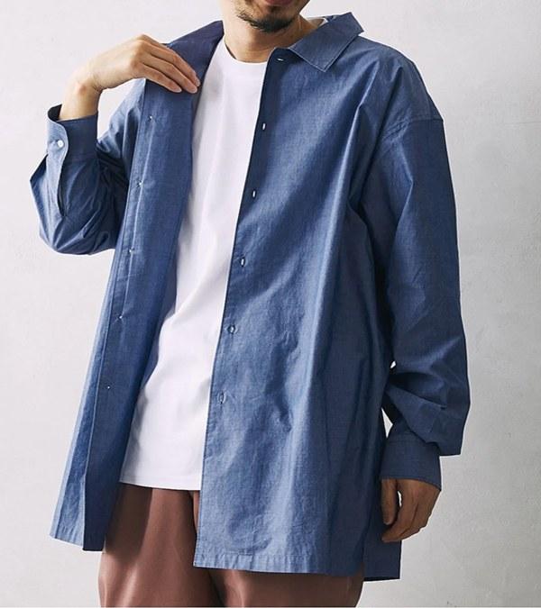 RLMM0203 CHAMBRAY寬版襯衫
