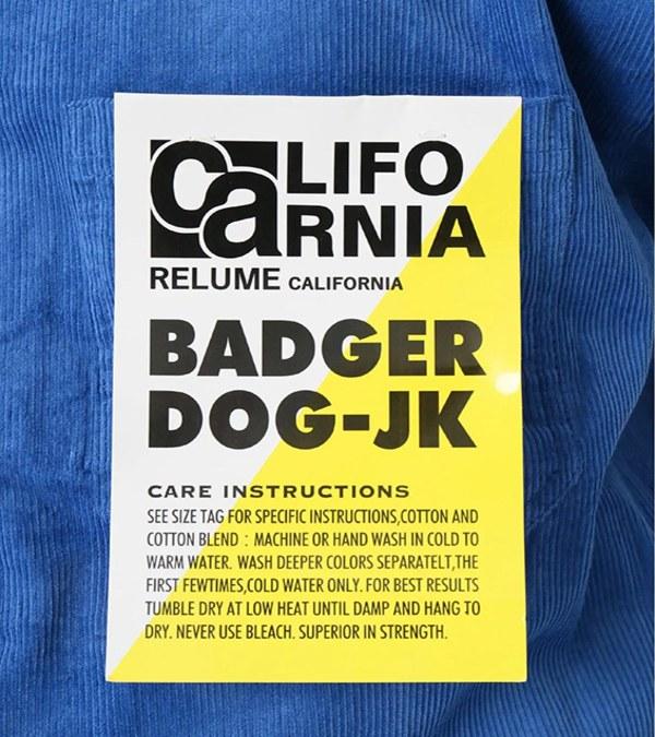 RLMM1102 CALIFORNIA 燈芯絨外套