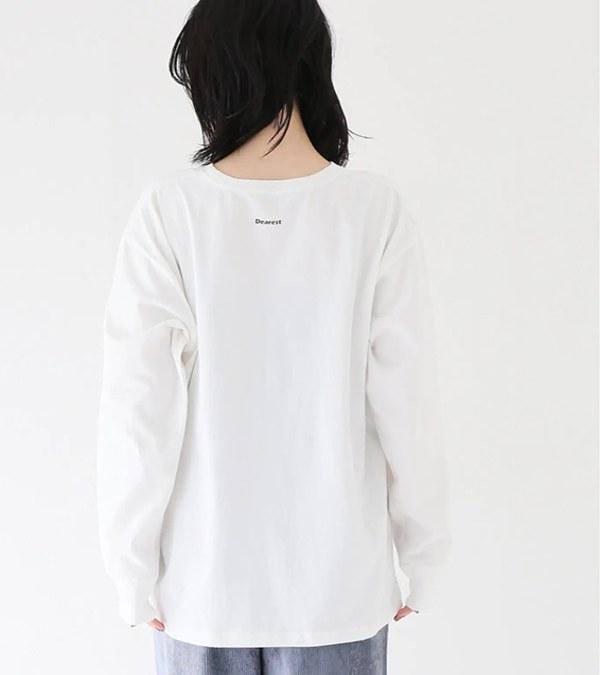 RLMW0007 花朵長袖上衣