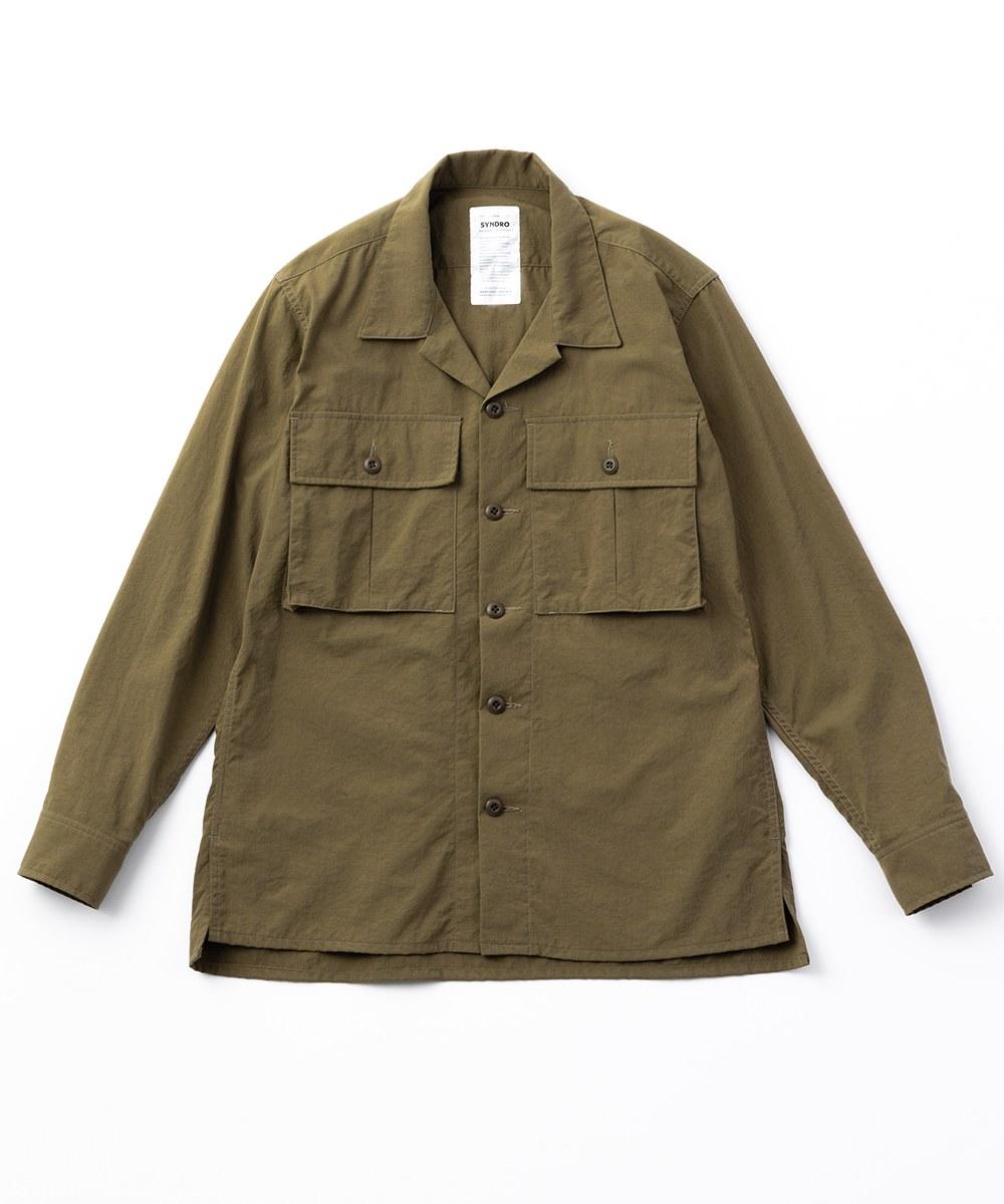 SYN0247 NARCOLEPSY ARMY SHIRT 尼龍軍裝襯衫