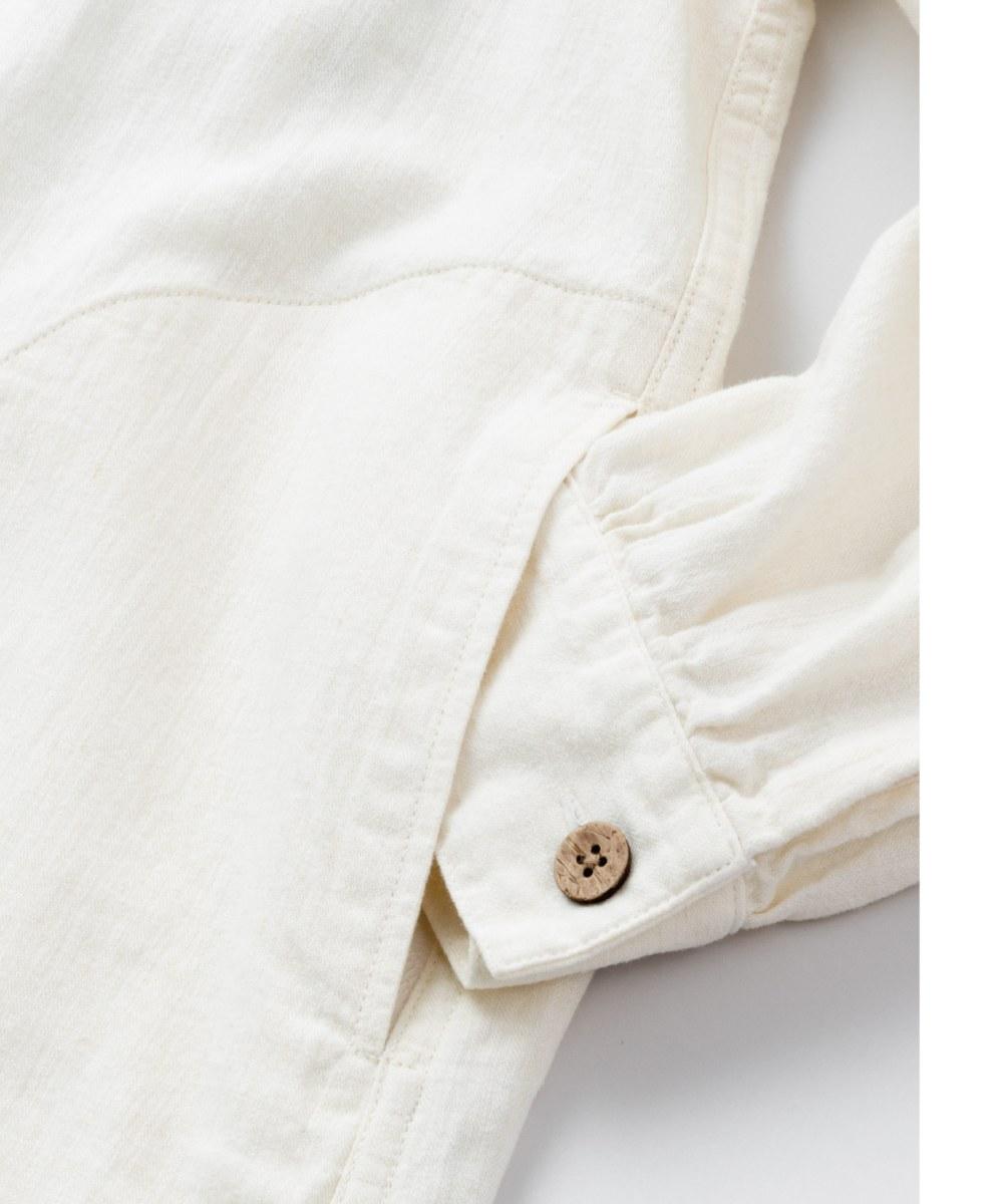 SYN0702 HEART OF FREEDOM SMOCK 人字紋寬鬆套頭罩衫