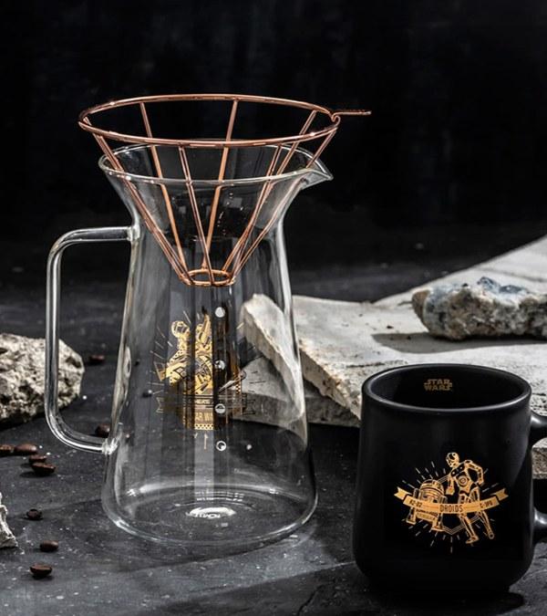 TOA9915 H.A.N.D 星戰 咖啡沖泡壺組 600ml
