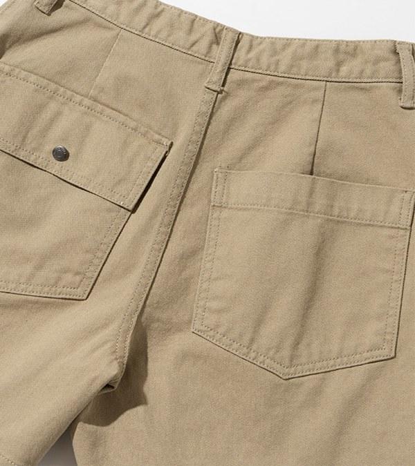UNBW1701 女款棉質軍風短褲 cotton fatigue shorts