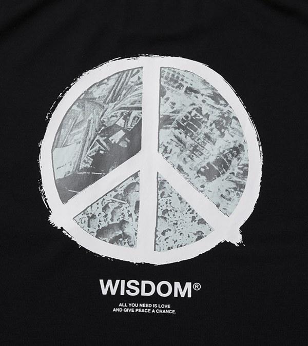 WDM0113 SHINCOOLR Peace S/S Tee 圖案短T